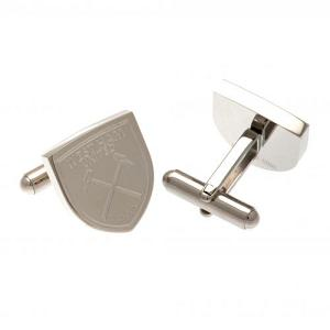 West Ham United FC Stainless Steel Formed Cufflinks 1