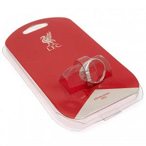 Liverpool FC Ring - Silver Plated - Size X 2