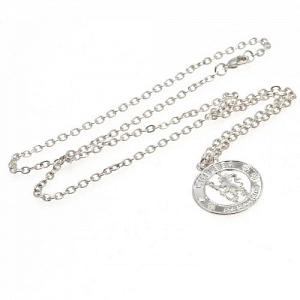 Chelsea FC Pendant & Chain - Silver Plated 1