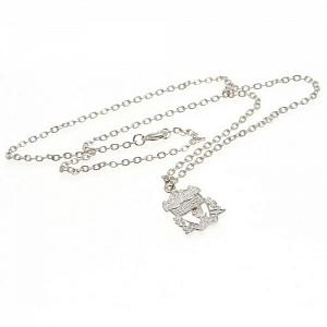 Liverpool FC Pendant & Chain - Silver Plated 1