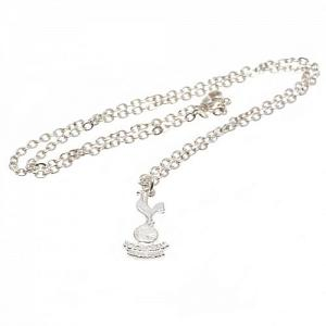Tottenham Hotspur FC Pendant & Chain - Silver Plated 1