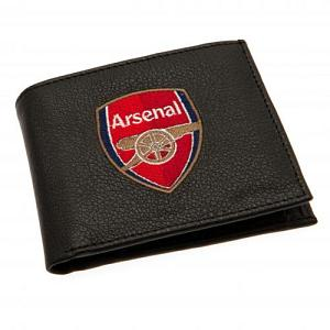 Arsenal FC Leather Wallet - Embroidered Crest 1