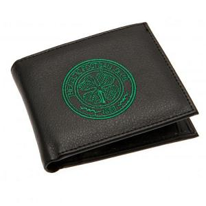 Celtic FC Leather Wallet - Embroidered Crest 1