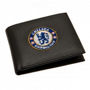 Chelsea FC Leather Wallet - Embroidered Crest 1