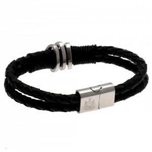 Newcastle United FC Leather Bracelet 1
