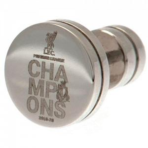 Liverpool FC Premier League Champions Stainless Steel Stud Earring 1