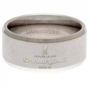 Liverpool FC Premier League Champions Band Ring Small 1