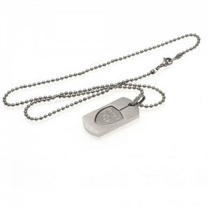 Arsenal FC Dog Tag & Chain - Cut Out 1