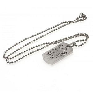 Chelsea FC Dog Tag & Chain - Cut Out 1