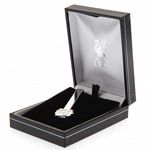 Liverpool FC Silver Plated Tie Slide 1