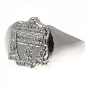 Liverpool FC Ring - Silver Plated - Size R 1