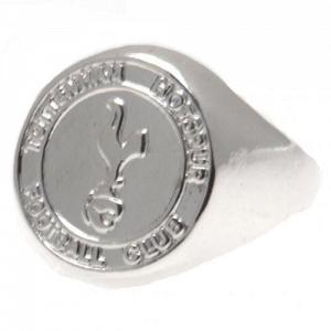 Tottenham Hotspur FC Ring - Silver Plated - Size U 1