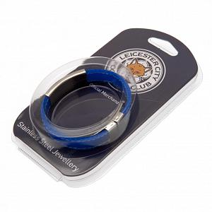 Leicester City FC Stitched Silicone Bracelet BL 1