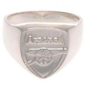Arsenal FC Ring - Sterling Silver - Size X 1