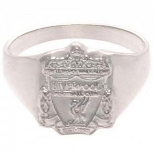 Liverpool FC Ring - Sterling Silver - Size U 1