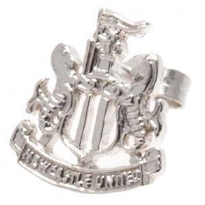 Newcastle United FC Stud Earring - Sterling Silver 1