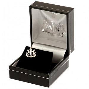 Newcastle United FC Stud Earring - Sterling Silver 2