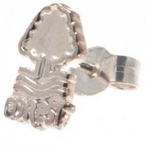 Nottingham Forest FC Sterling Silver Stud Earring 1
