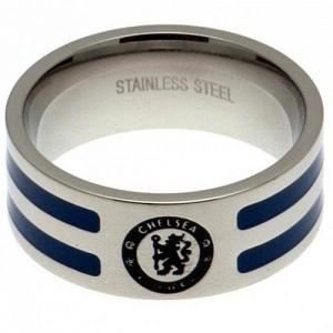Chelsea FC Ring - Colour Stripe - Size U 1
