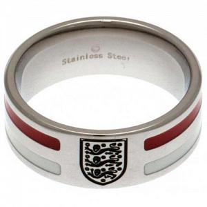 England Ring - Colour Stripe - Size R 1