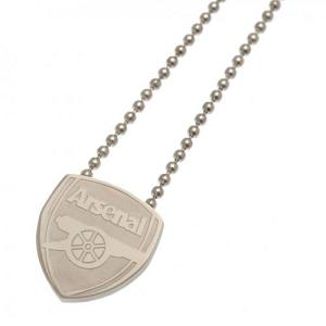 Arsenal FC Pendant & Chain - Stainless Steel 1