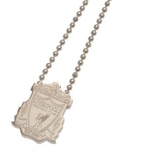 Liverpool FC Pendant & Chain - Stainless Steel 1