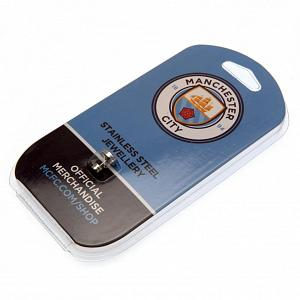 Manchester City FC Stud Earring - Stainless Steel 2