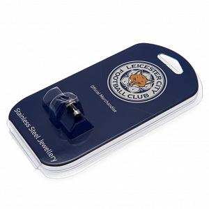 Leicester City FC Stud Earring - Stainless Steel 1