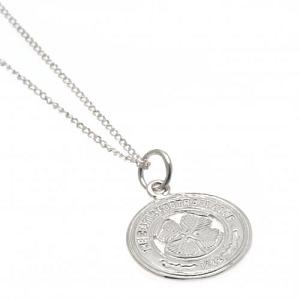 Celtic FC Pendant & Chain - Sterling Silver 1