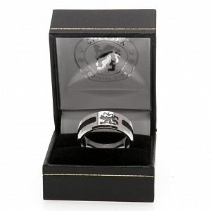 Chelsea FC Ring - Black Inlay - Size R 2