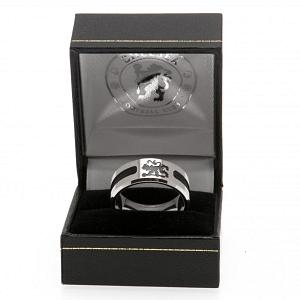 Chelsea FC Ring - Black Inlay - Size X 2