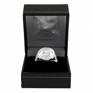 Celtic FC Ring - Silver Plated - Size U 2