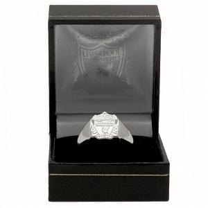 Liverpool FC Ring - Silver Plated - Size R 2