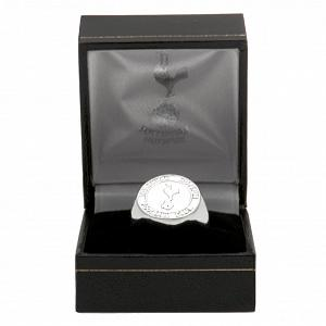 Tottenham Hotspur FC Ring - Silver Plated - Size U 2