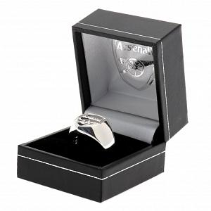 Arsenal FC Ring - Sterling Silver - Size X 2