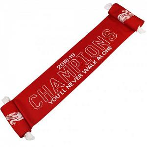 Liverpool FC Champions Of Europe Scarf 1