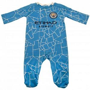 Manchester City FC Sleepsuit 12/18 mths 1