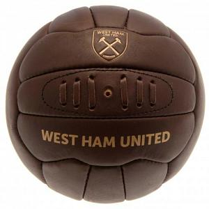 West Ham United FC Football Soccer Ball - Retro 1