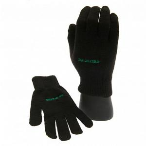 Celtic FC Knitted Gloves Junior 1