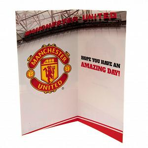 Manchester United FC Birthday Card 1