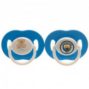 Manchester City FC Dummies / Soothers 1