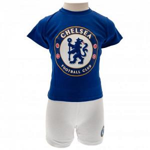 Chelsea FC T Shirt & Short Set 18/23 mths 1