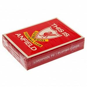 Liverpool FC Playing Cards TIA 1