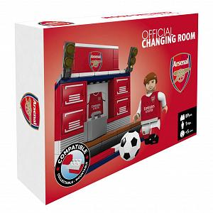 Arsenal FC Brick Changing Room 2