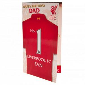 Liverpool FC Birthday Card - Dad 1