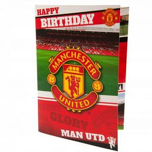 Manchester United FC Musical Birthday Card 1