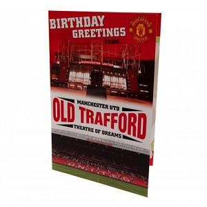 Manchester United FC Pop-Up Birthday Card 1