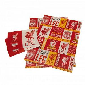 Liverpool FC Wrapping Paper 1